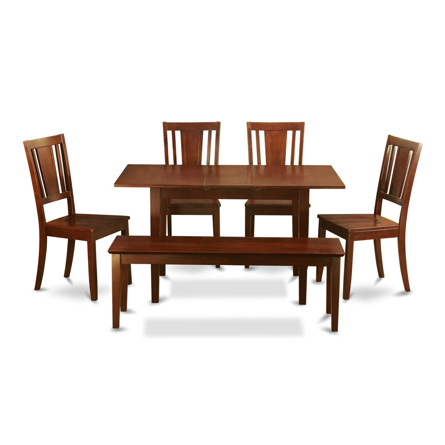 East west norfolk 6 piece dining set reviews wayfair for Furniture 2 day shipping