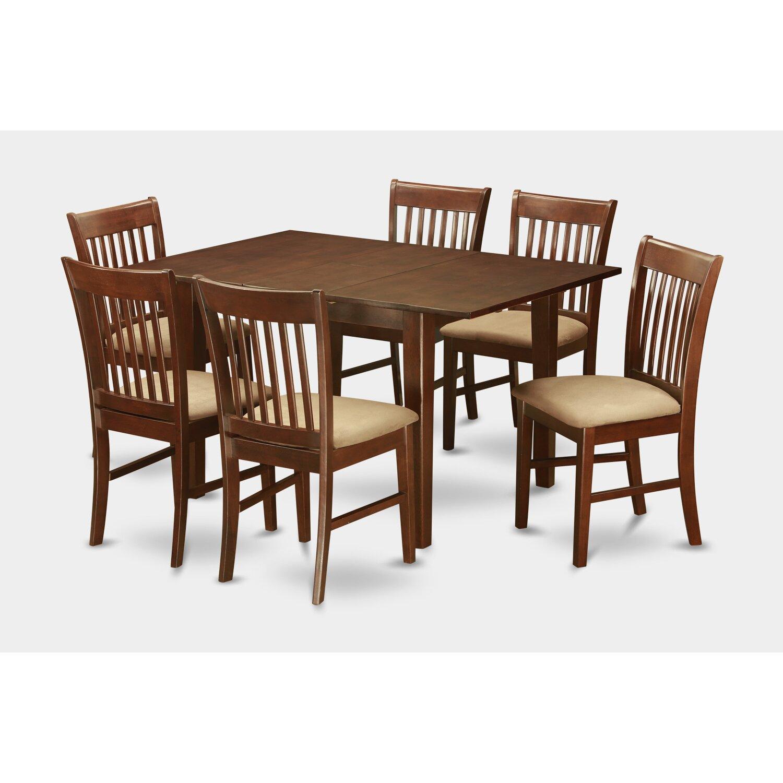 Wooden Importers Lynfield 6 Piece Dining Set: Wooden Importers Picasso 7 Piece Dining Set & Reviews