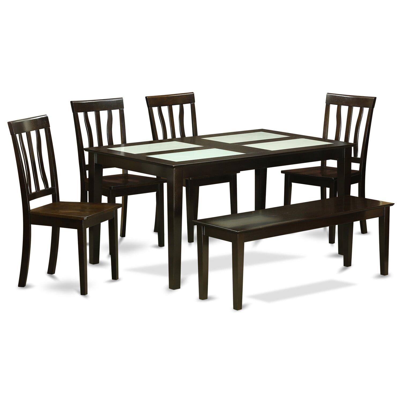 Wooden Importers Lynfield 6 Piece Dining Set: Wooden Importers Capri 6 Piece Dining Set & Reviews