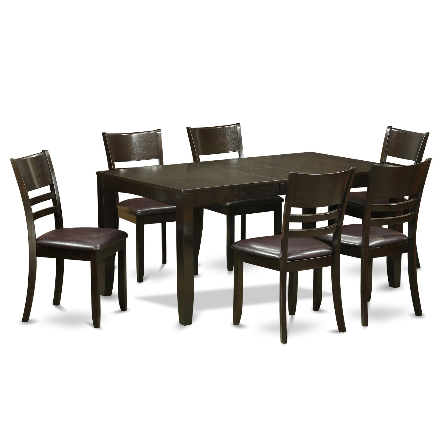 Wooden importers lynfield 7 piece dining set reviews for 7 piece dining room set