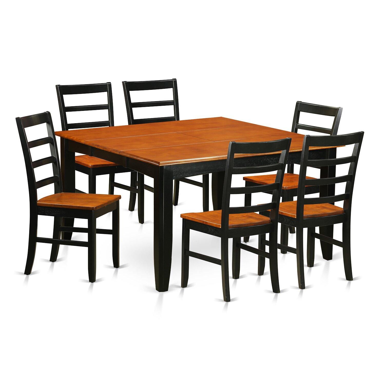 Wooden Importers Avon 7 Piece Dining Set: Wooden Importers Parfait 7 Piece Dining Set & Reviews