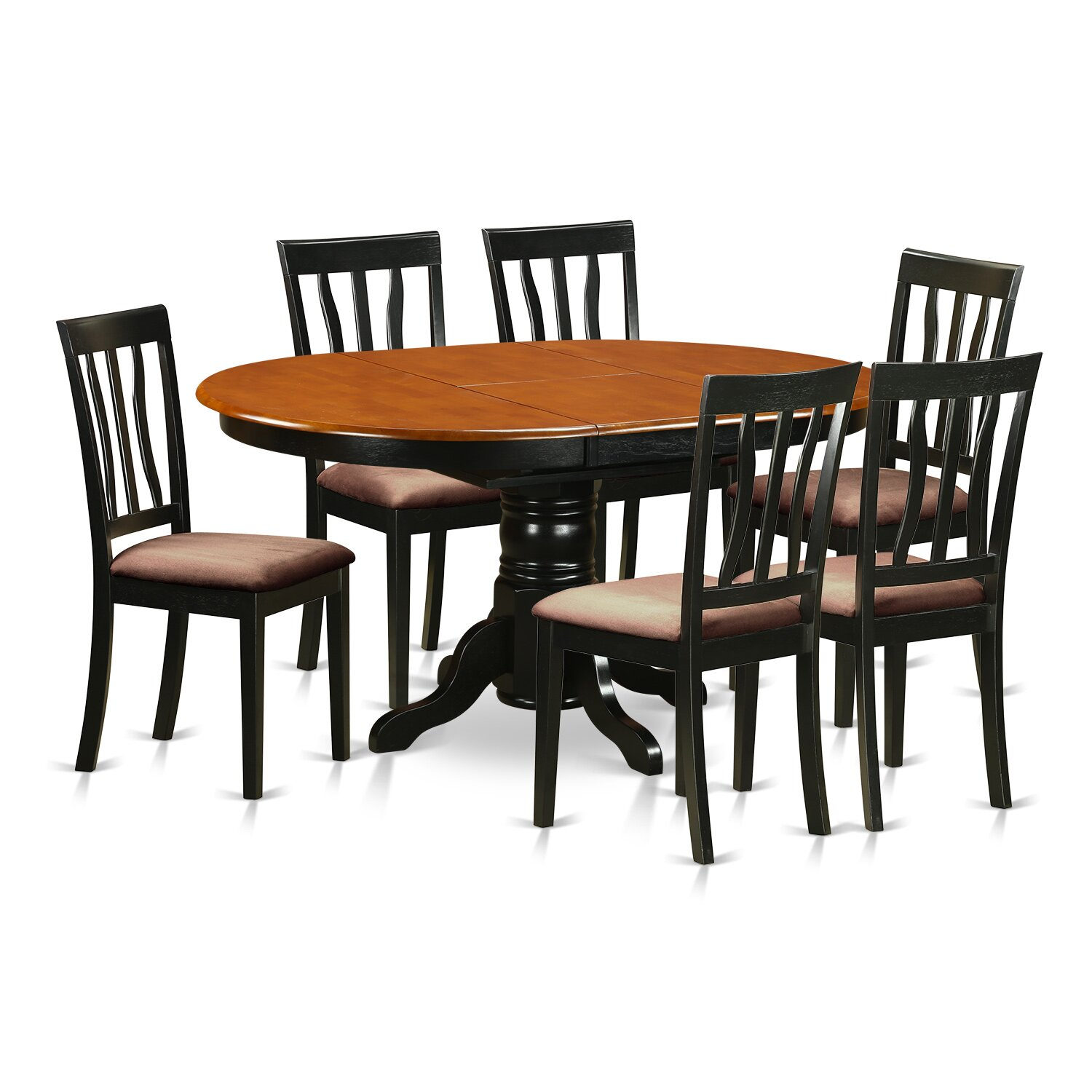 wooden importers avon 7 piece dining set wayfair