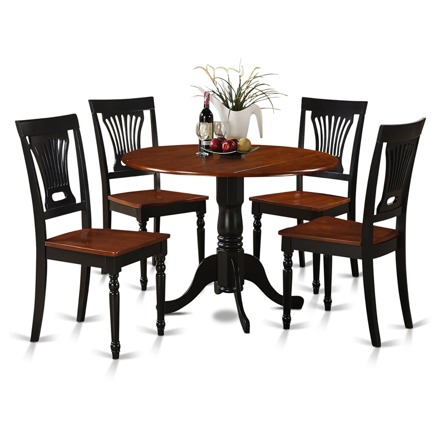 Kitchen Dinette Set: Wooden Importers Dublin 5 Piece Dining Set & Reviews