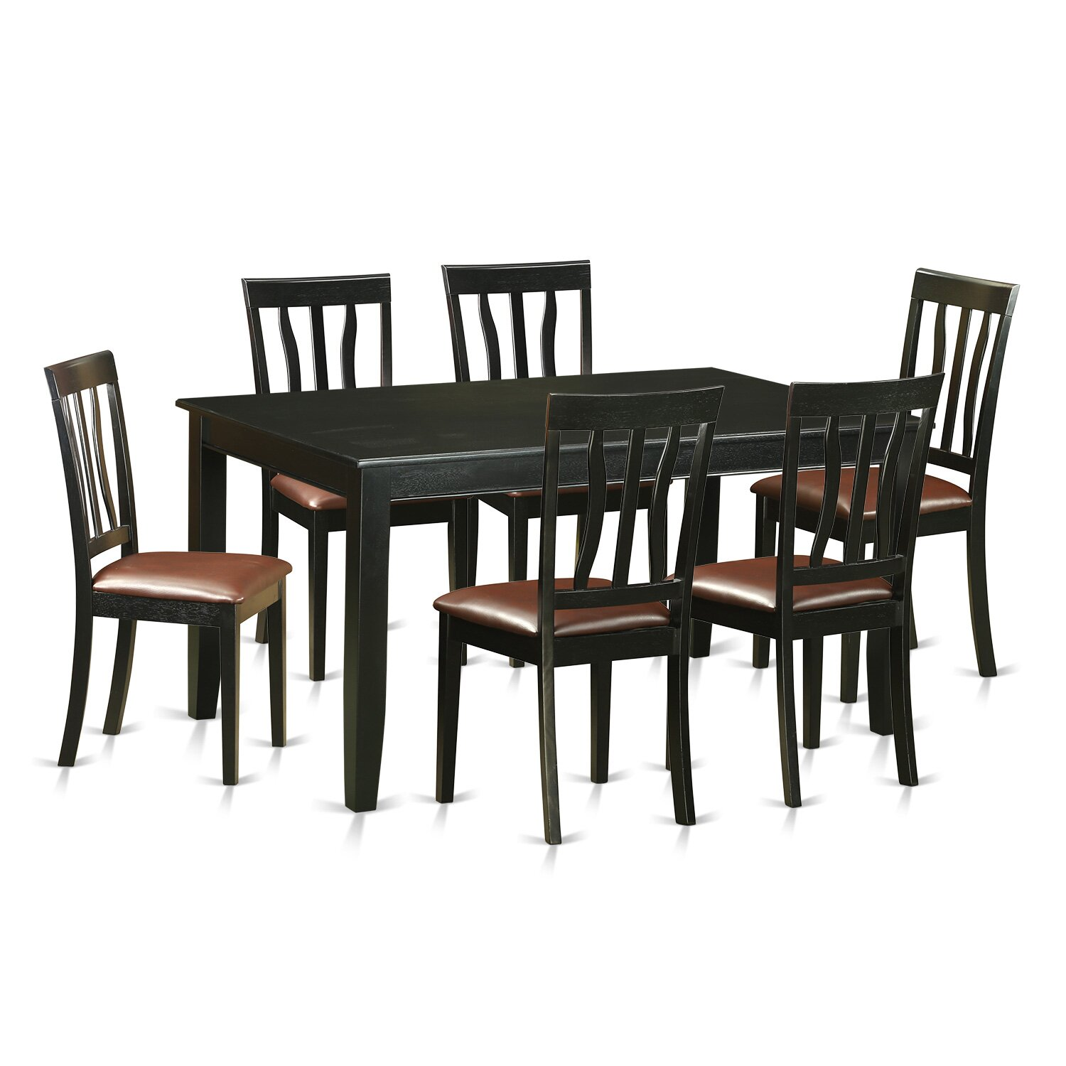 pc dining room table set for 6 kitchen table and 6 dining room