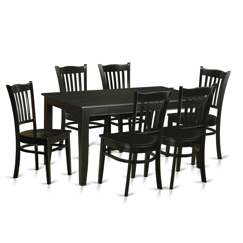 Wooden Importers Avon 7 Piece Dining Set: Wooden Importers Dudley 7 Piece Dining Set
