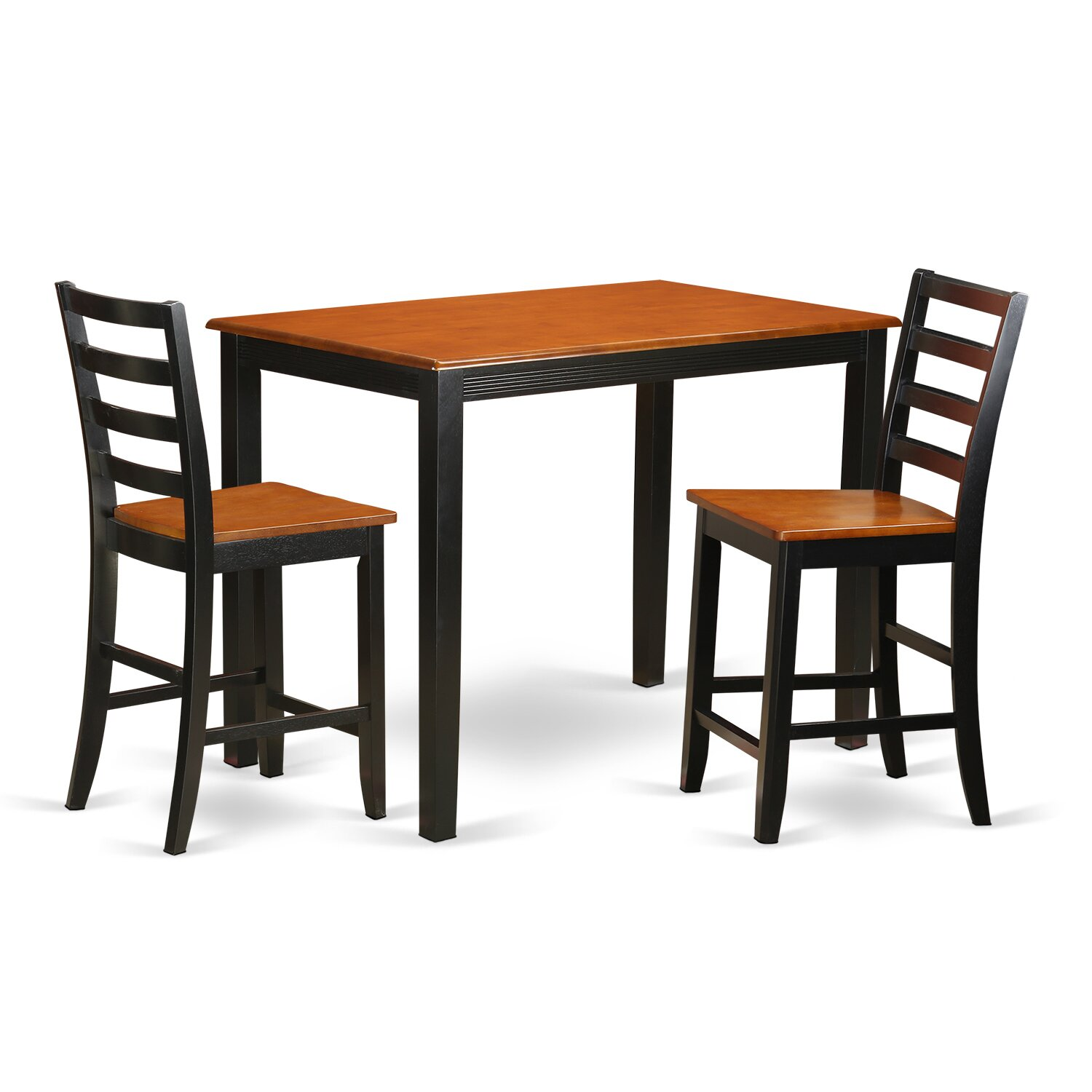 Wood Pub Set ~ Wooden importers yarmouth piece counter height pub table