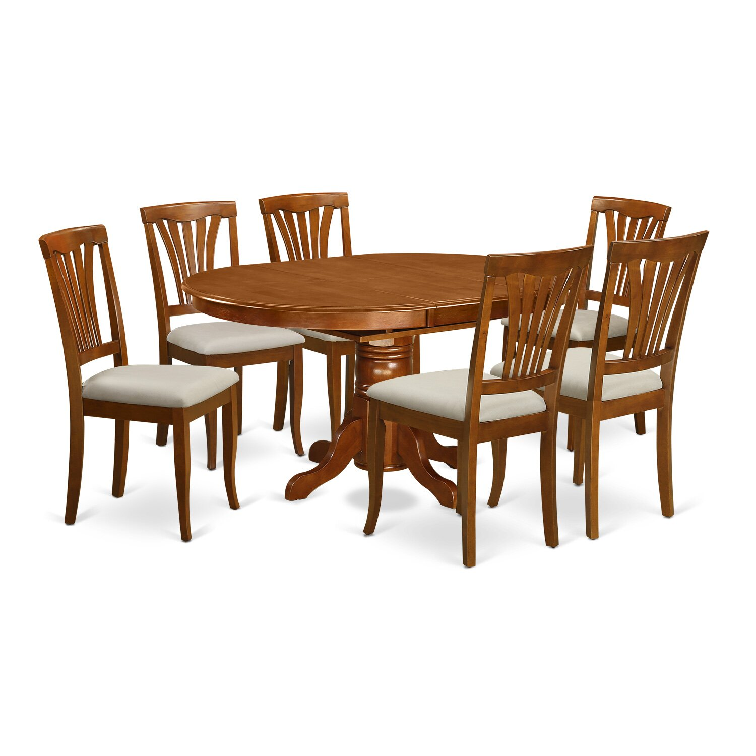 Wooden importers avon 7 piece dining set reviews wayfair for Furniture 7 credit reviews