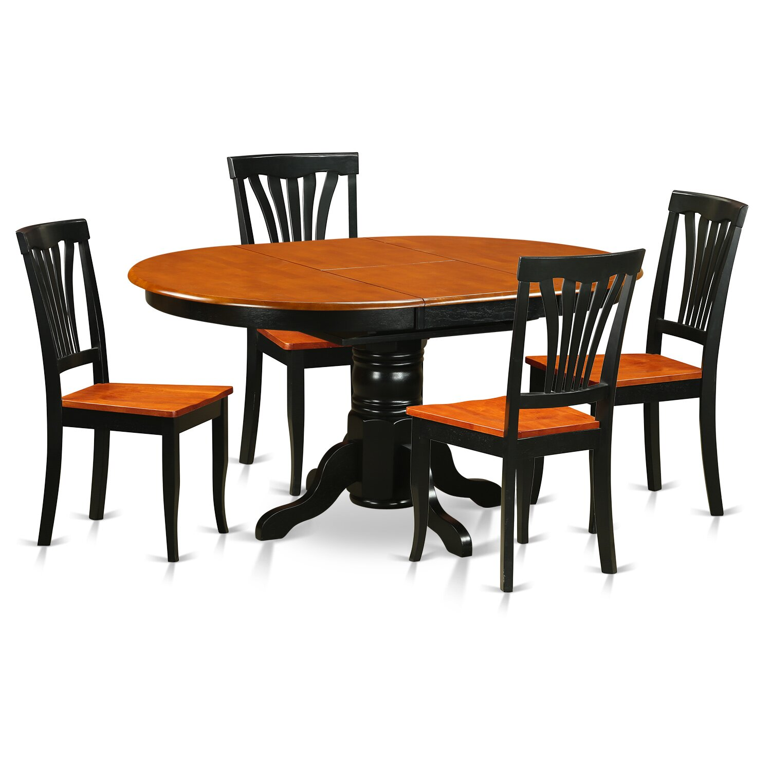 Wooden importers avon 5 piece dining set reviews wayfair for 5 piece dining set