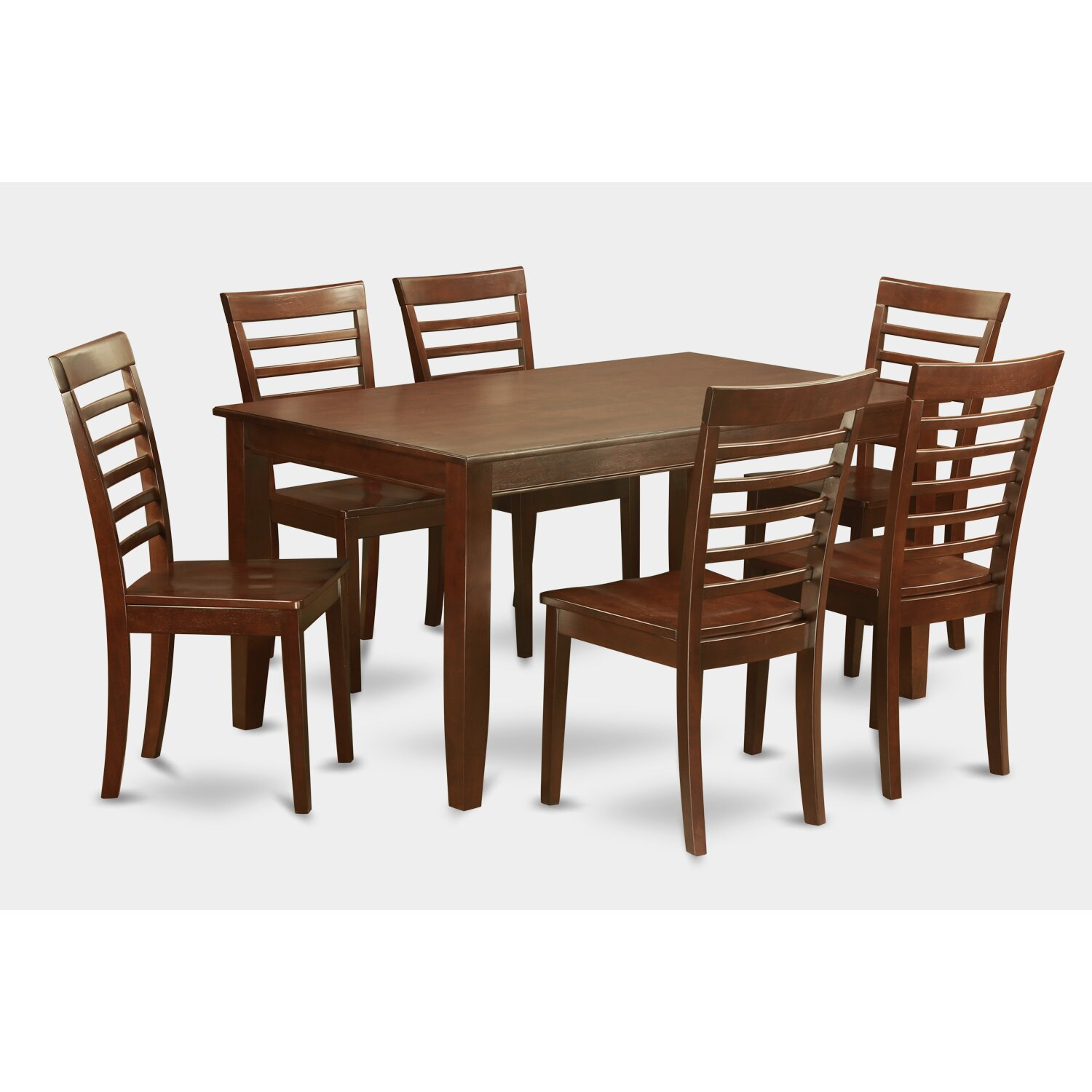 Wooden Importers 3 Piece Dining Set Reviews: Wooden Importers Dudley 7 Piece Dining Set & Reviews