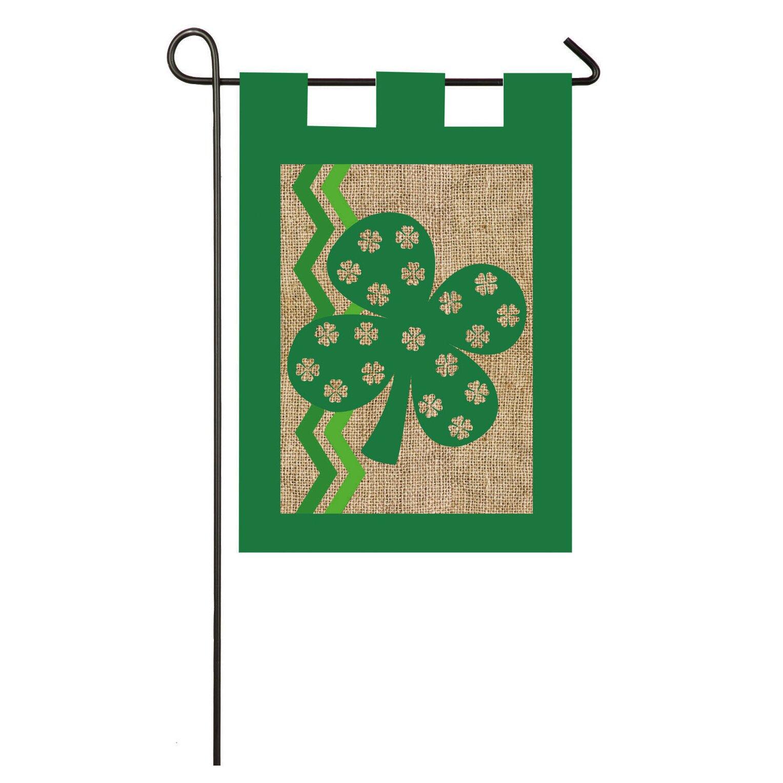 Evergreen Flag Garden St Pat Garden Flag Reviews