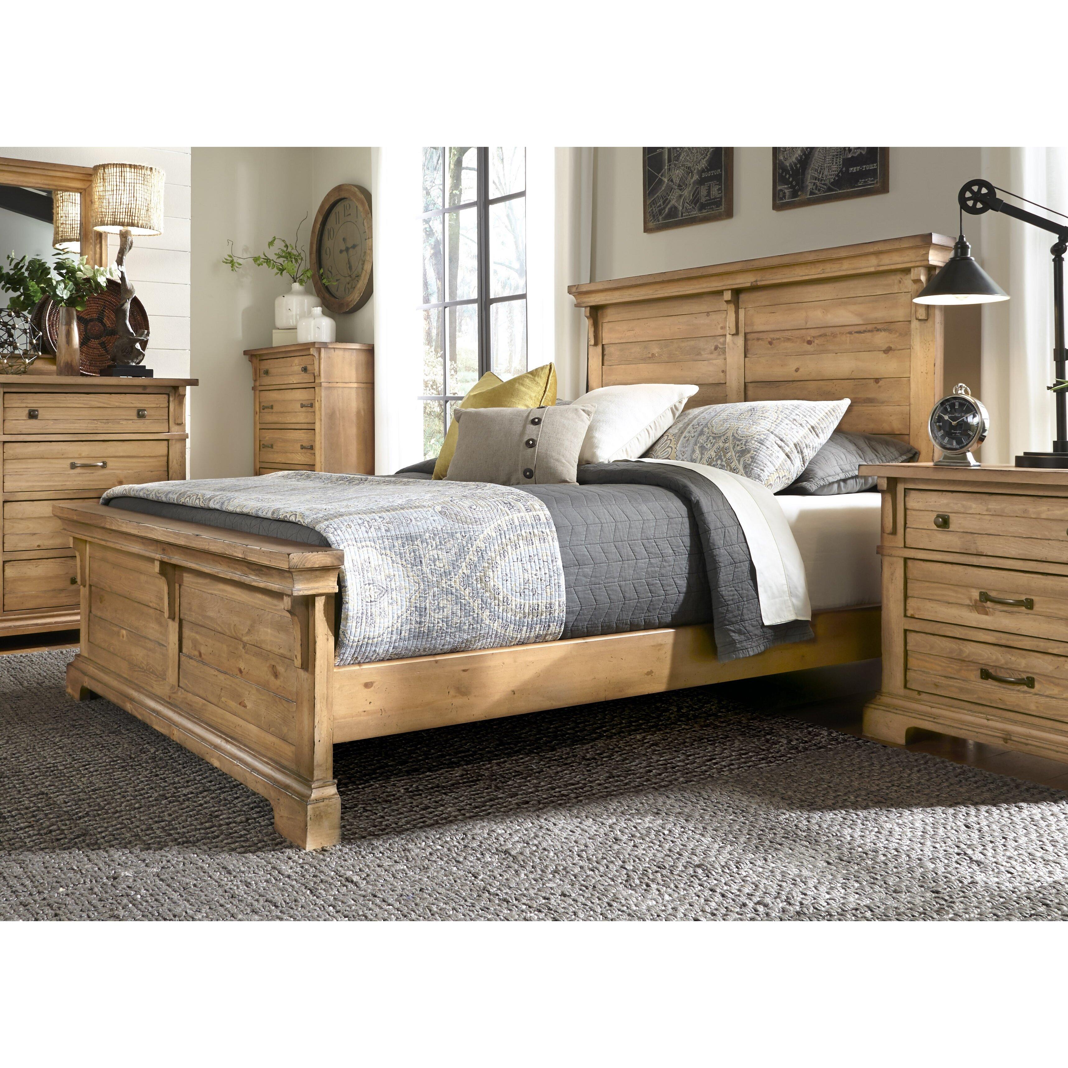 Progressive Furniture Chestnut Hill Platform Bed Wayfair