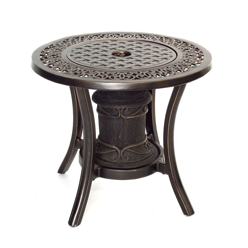 Hanover Aluminum Propane Outdoor Fire Pit Table Amp Reviews