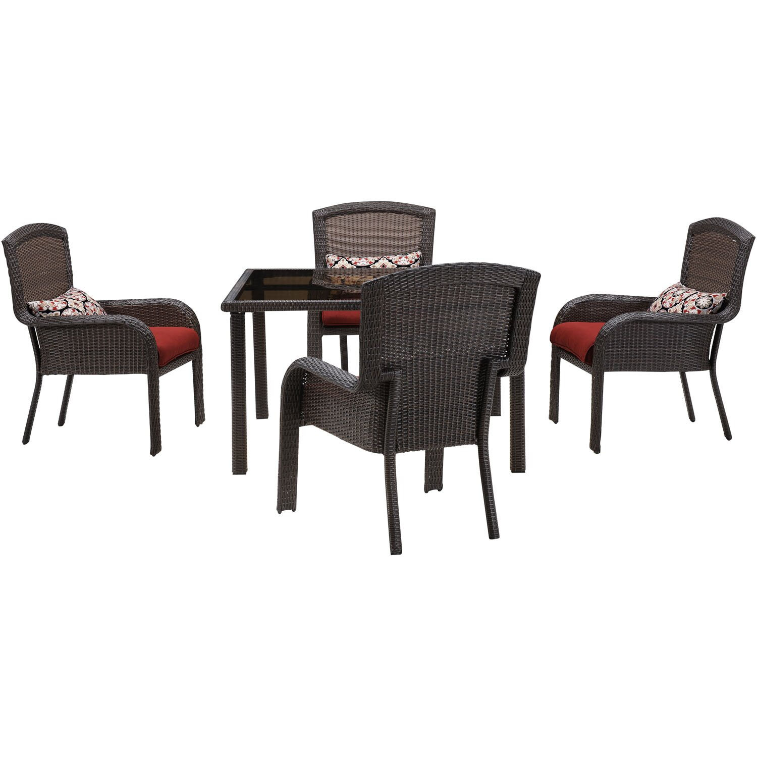 Hanover strathmere 5 piece dining set wayfair for 5 piece dining set