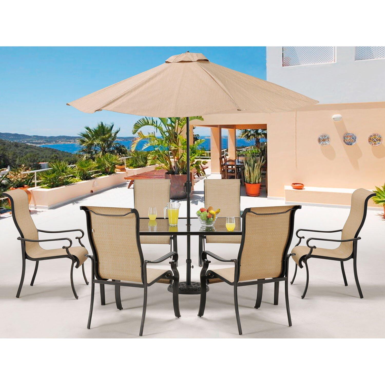 Patio Furniture Umbrella Inspiration Outdoor Set With