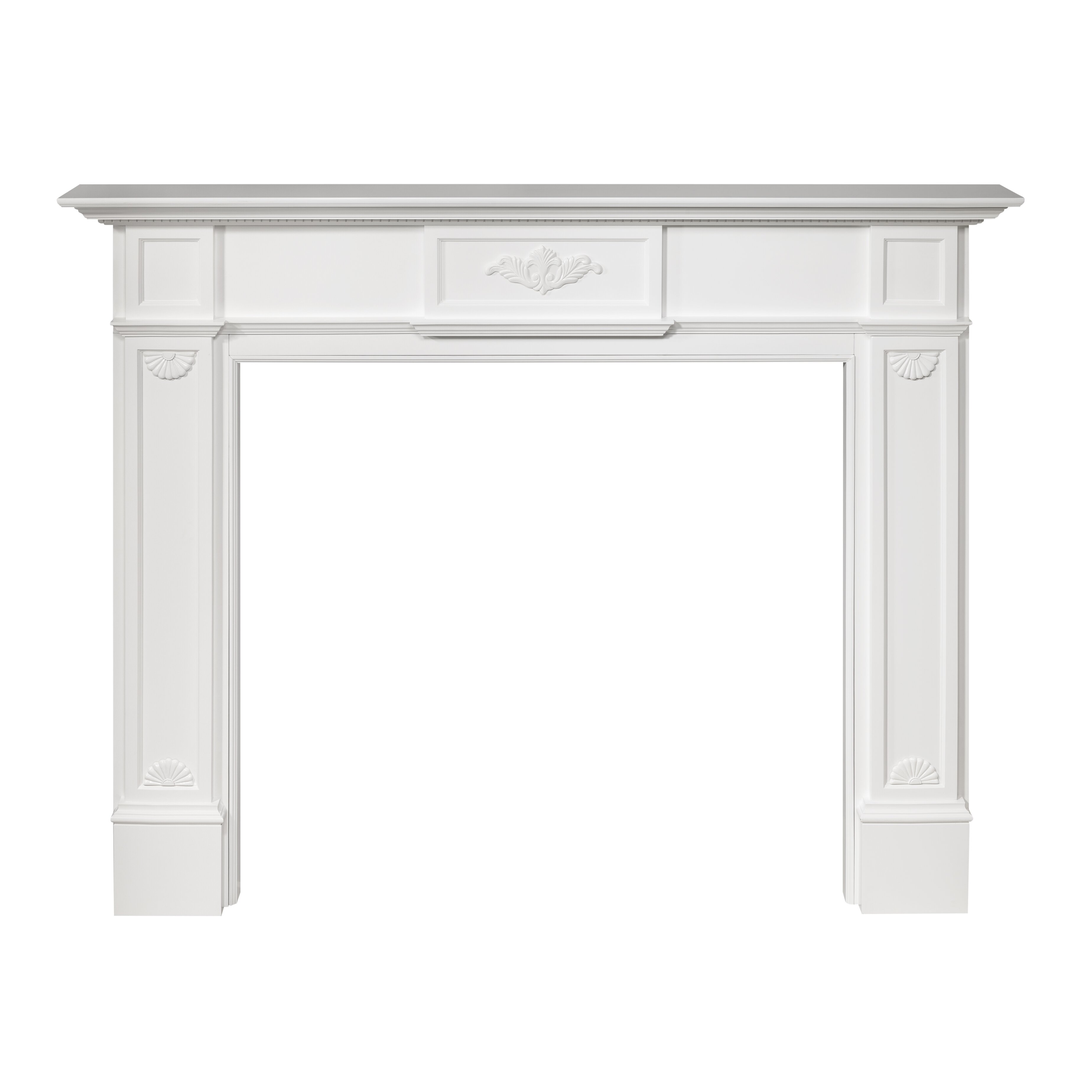 Pearl Mantels 56quot Monticello Fireplace Mantel Surround  : Pearl Mantels 56 Monticello Fireplace Mantel Surround 530 56 from www.wayfair.com size 3696 x 3696 jpeg 424kB