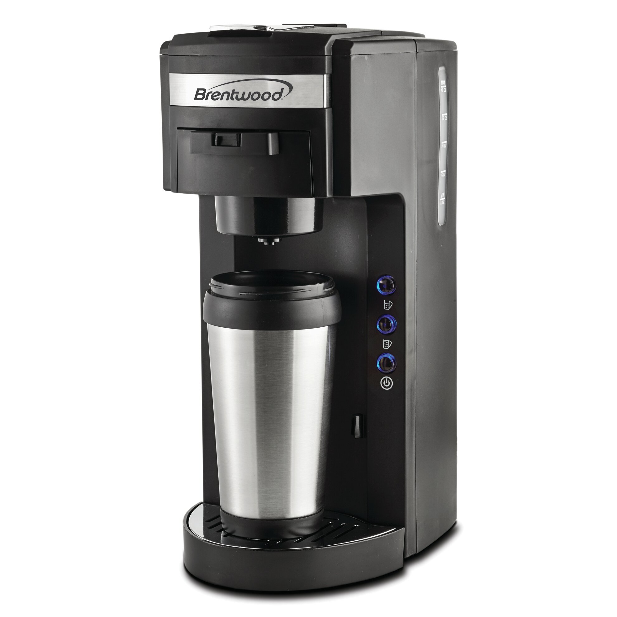 Brentwood k cup coffee maker wayfair for Apartment size coffee maker