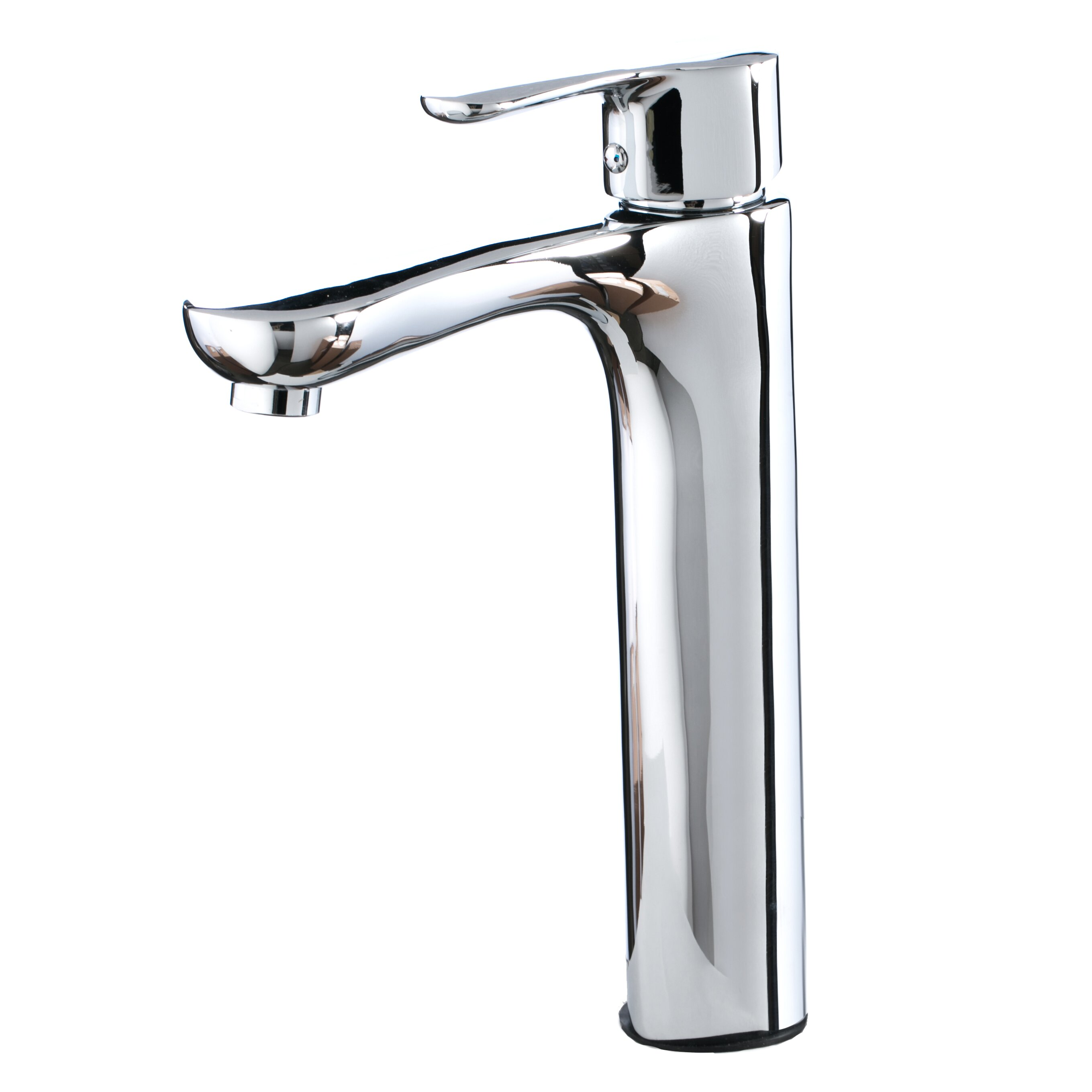Kokols single handle single hole vessel faucet wayfair for How to clean pitted chrome bathroom fixtures
