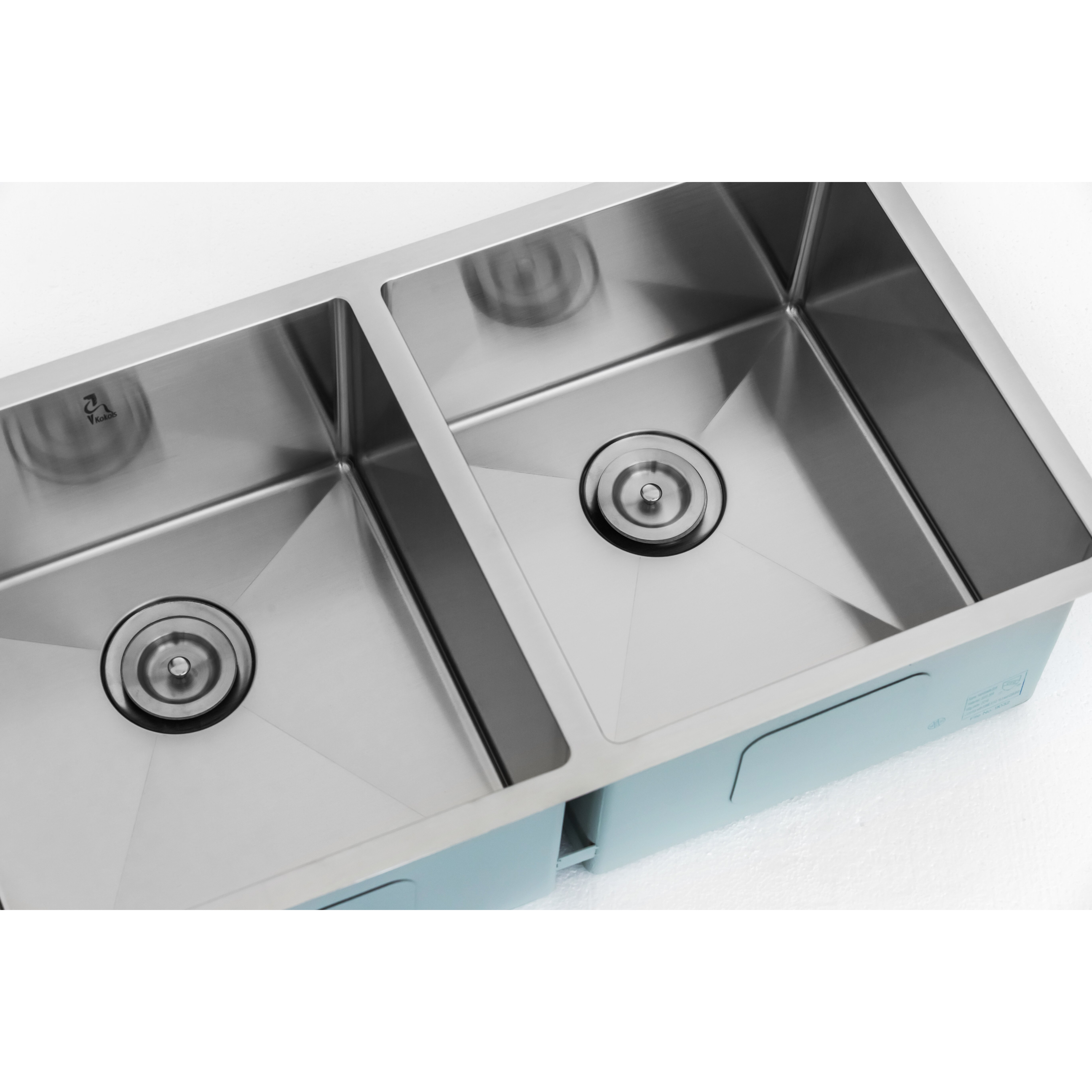 Kitchen Sink Double Bowl : Kokols 32