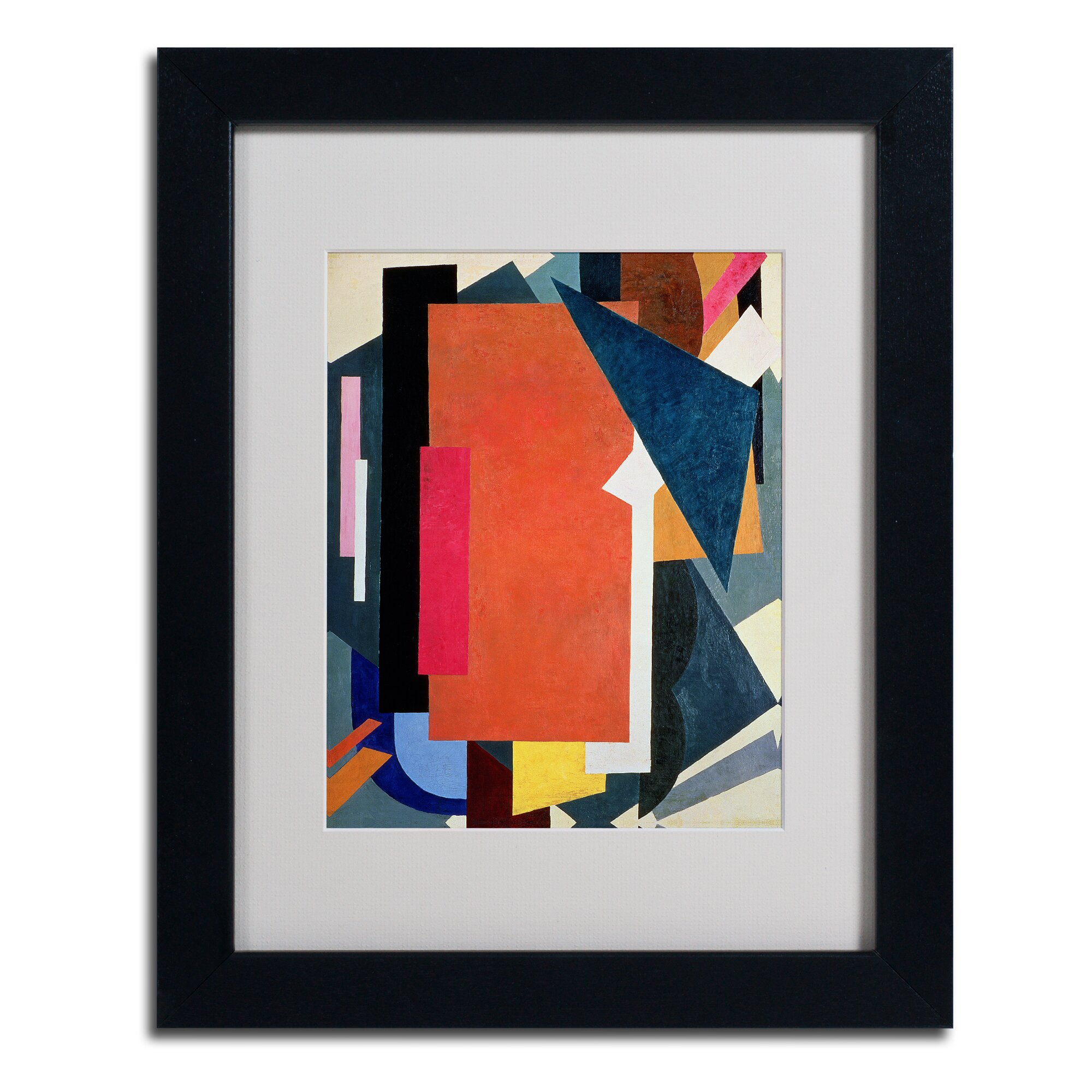 Fine Dining Room Sets Trademark Art Quot Abstract Iii Quot Framed Painting Print Wayfair