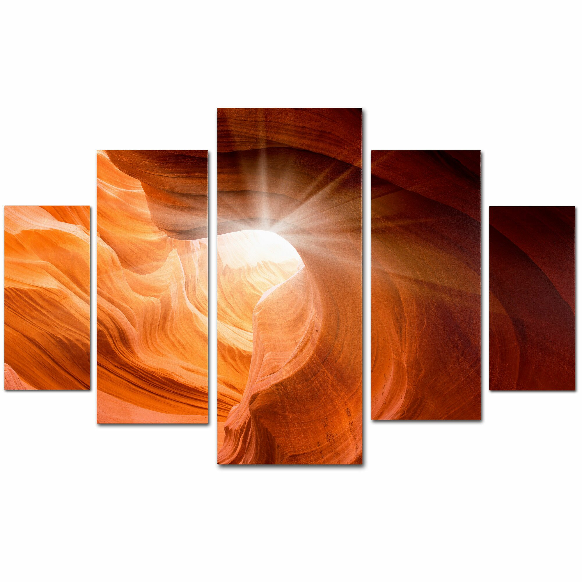 Trademark art 39 smooth 39 by moises levy 5 piece photographic for Ready set decor reviews