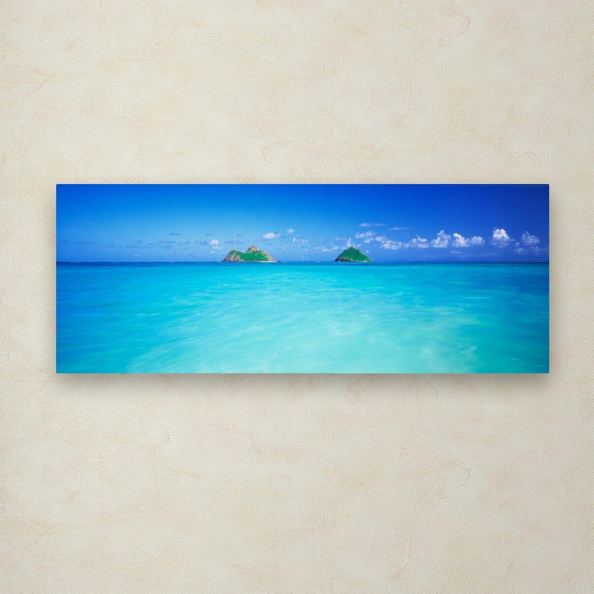 Trademark Art Quot Twin Islands Oahu Quot By David Evans