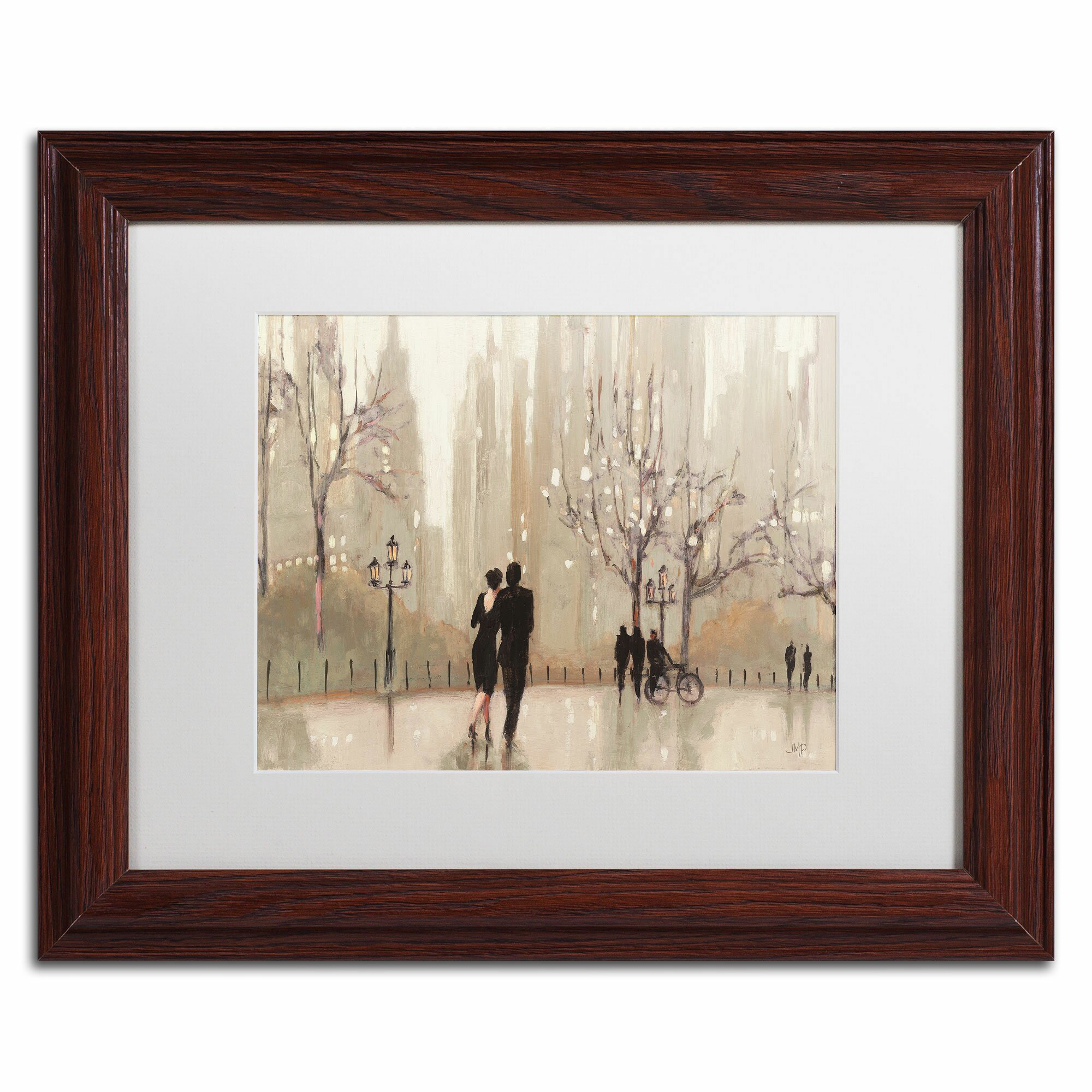 Trademark art 39 an evening out neutral 39 by julia purinton for Wall art pictures paintings