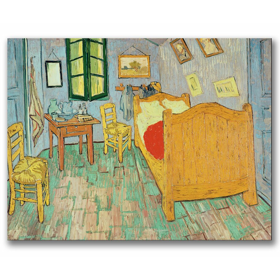 trademark fine art 39 van gogh 39 s bedroom at arles 39 by vincent van g