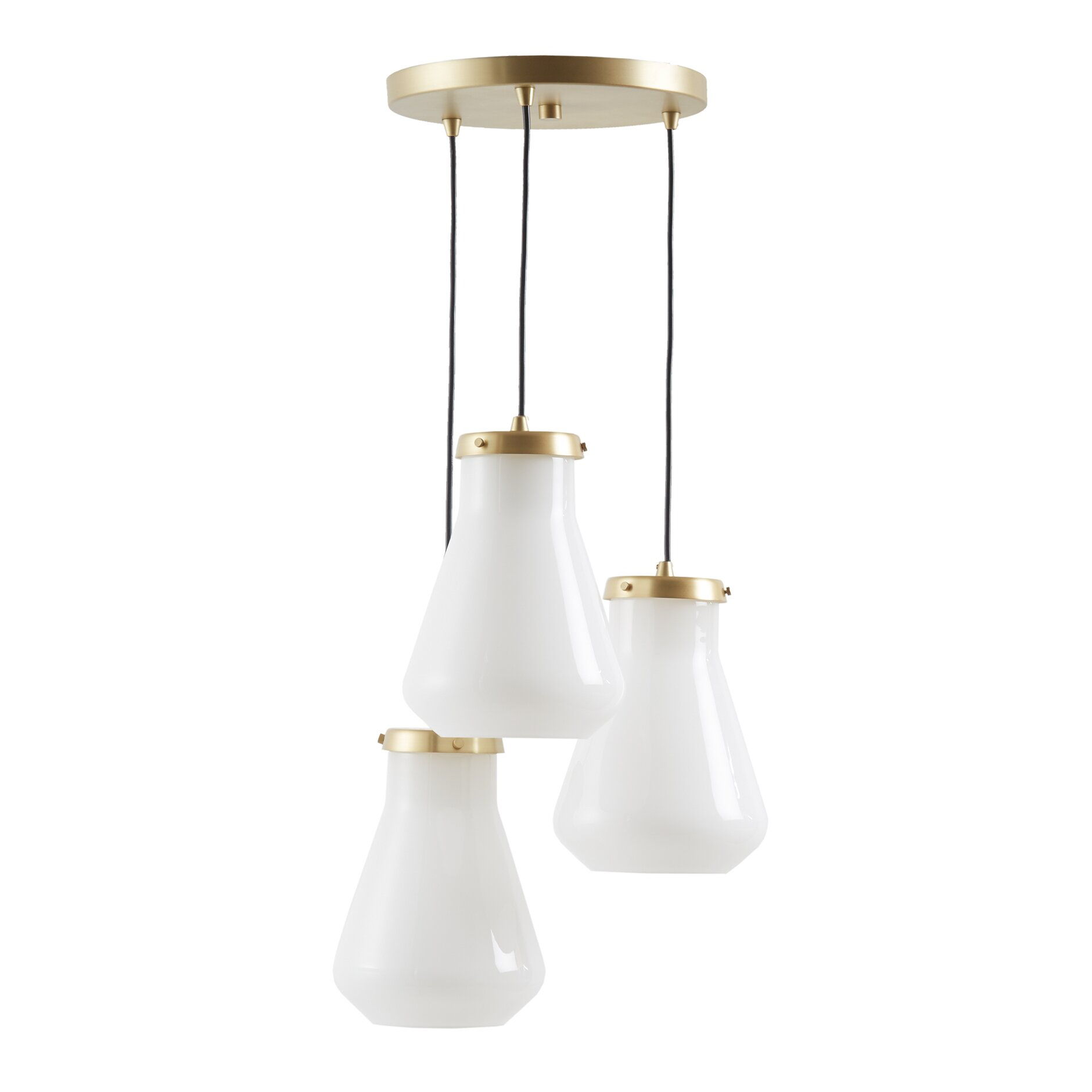 Ink + Ivy Hede 3 Light Kitchen Island Pendant