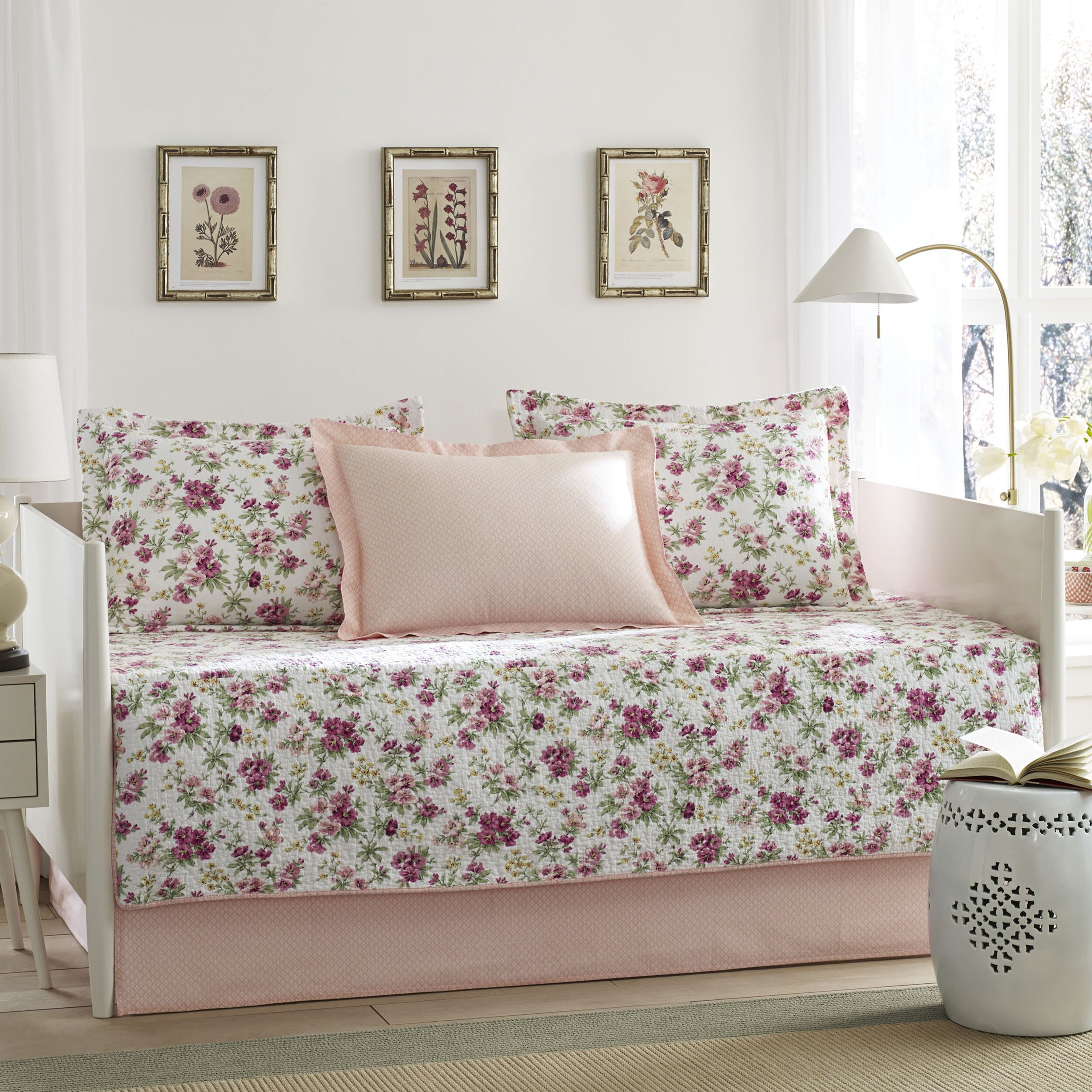 Laura Ashley Bedding For Daybeds : Laura ashley home dorthea piece reversible daybed set