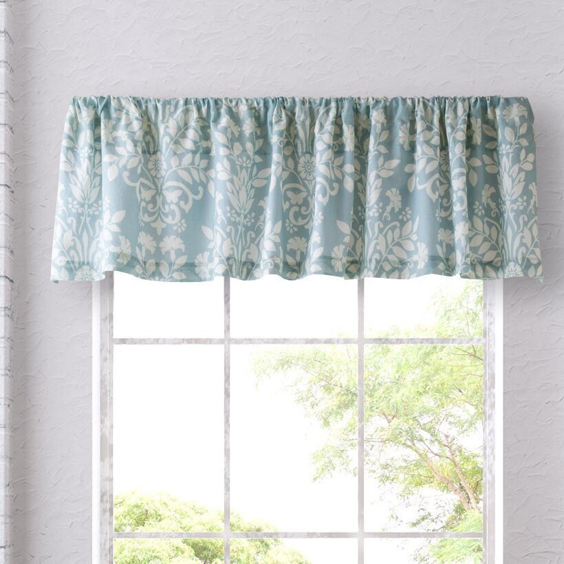 "Laura Ashley Home Rowland 86"" Curtain Valance & Reviews"