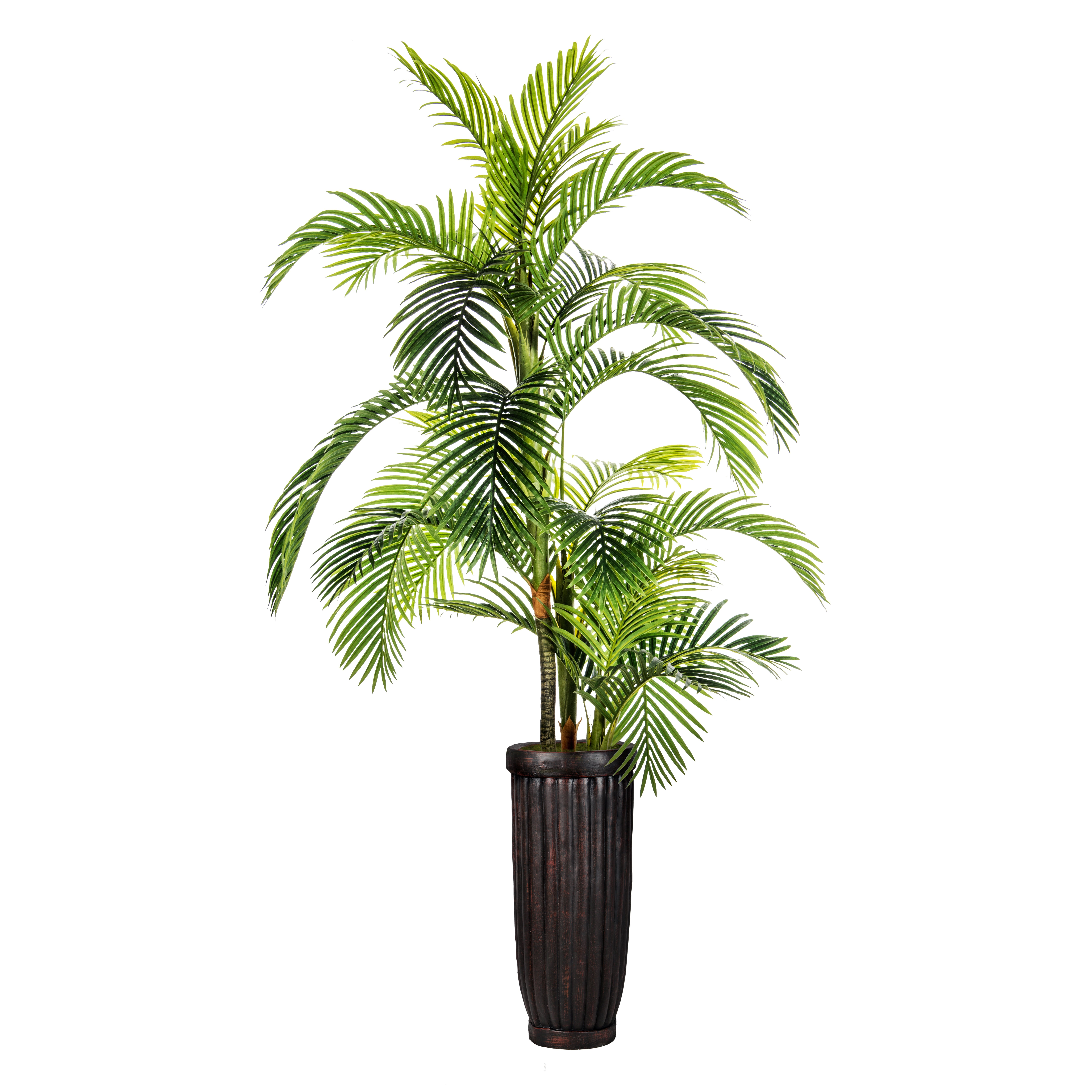 Laura ashley home fiberstone palm tree in pot amp reviews
