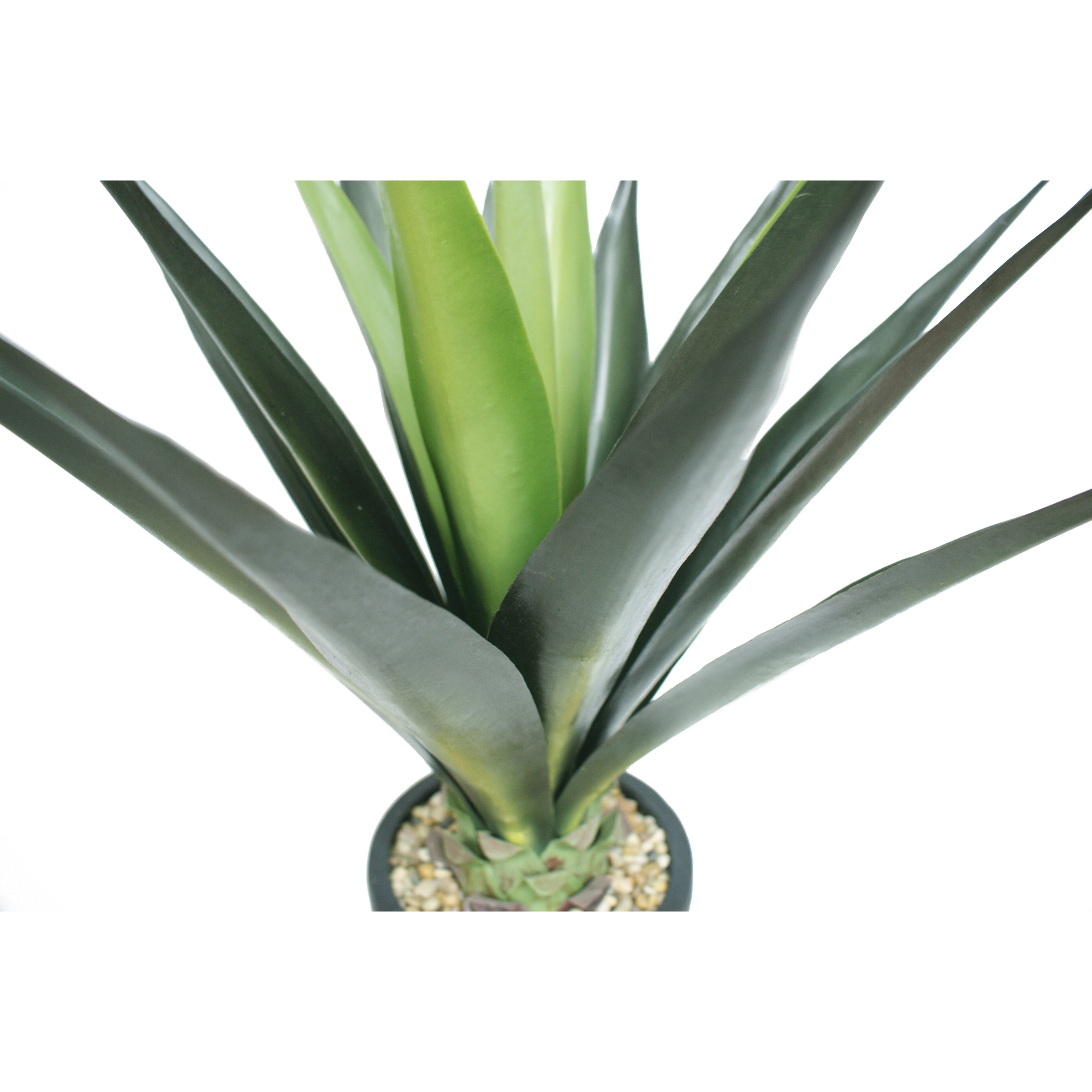 Laura ashley home tall high end giant aloe floor plant in planter