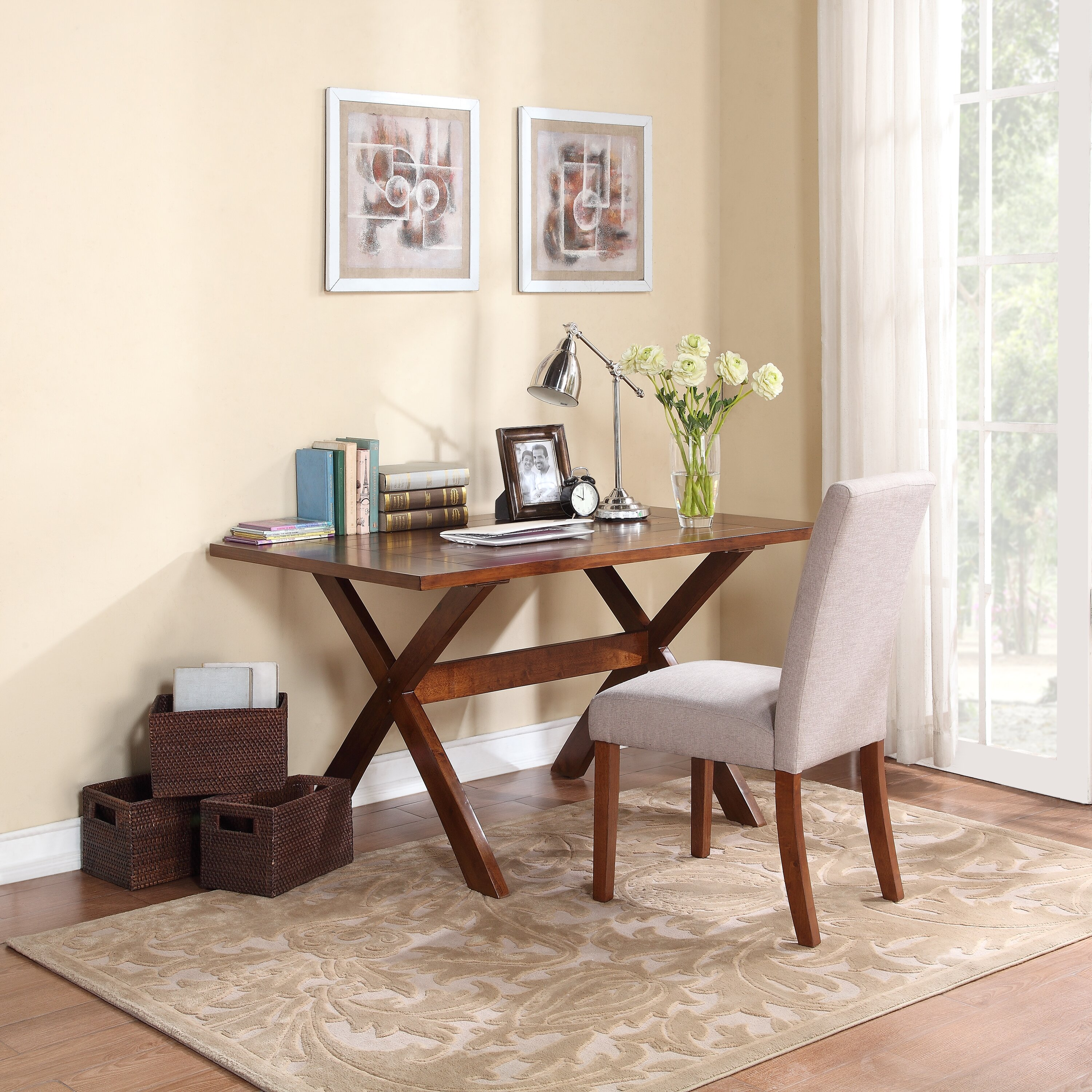 Dorel Trestle Dining TableDorel Living Trestle Dining Table Reviews - Wayfair trestle table