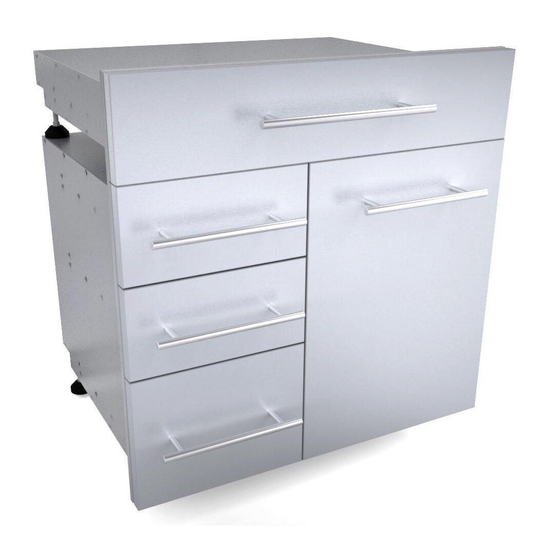 Sunstone Grills Outdoor Kitchen Access Drawer Wayfair