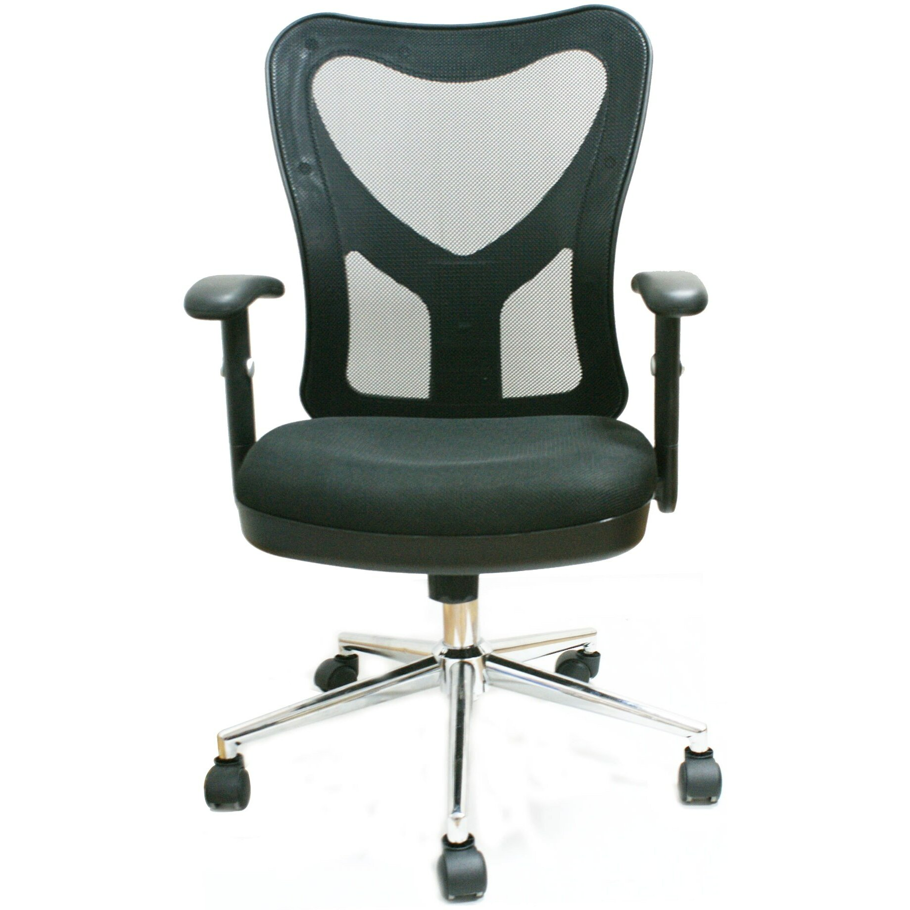 Mobili Mid Back Mesh Fully Adjustable Office Chair Reviews Wayfair