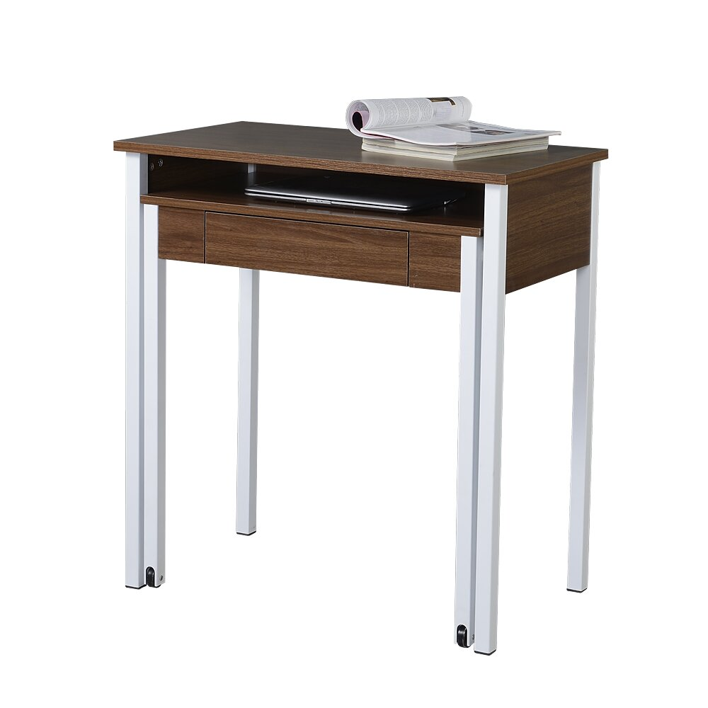 Techni Mobili Compact Retractable Computer Desk With