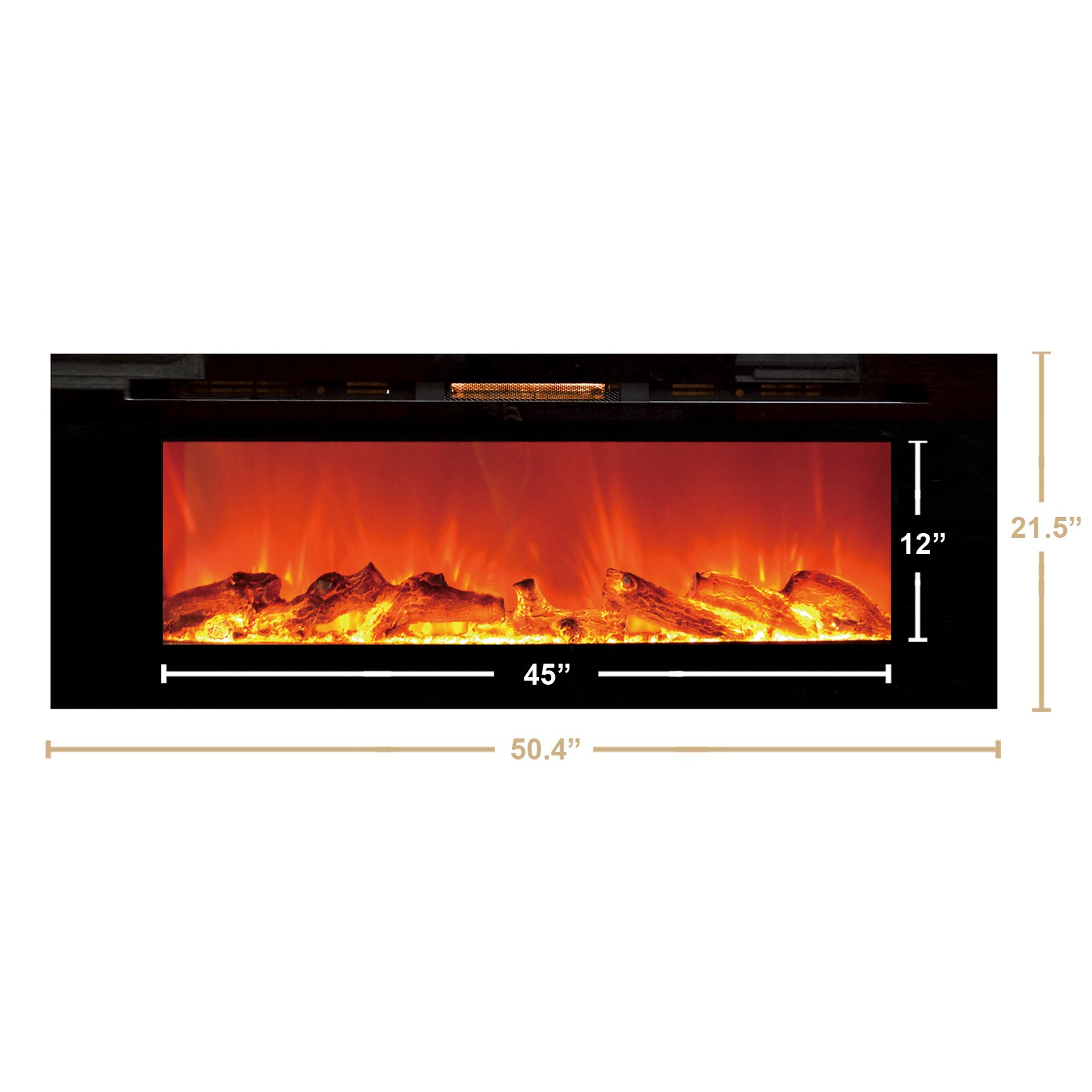 Touchstone Sideline Wall Mount Electric Fireplace Reviews