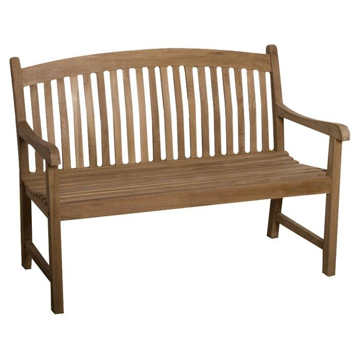 International home miami darwin teak garden bench for Outdoor furniture darwin