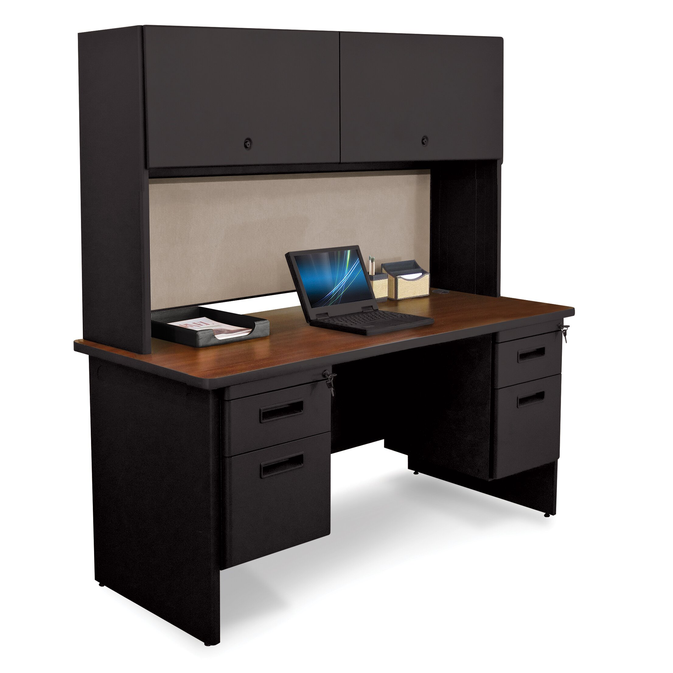 Marvel Office Furniture Pronto Executive Desk With Door