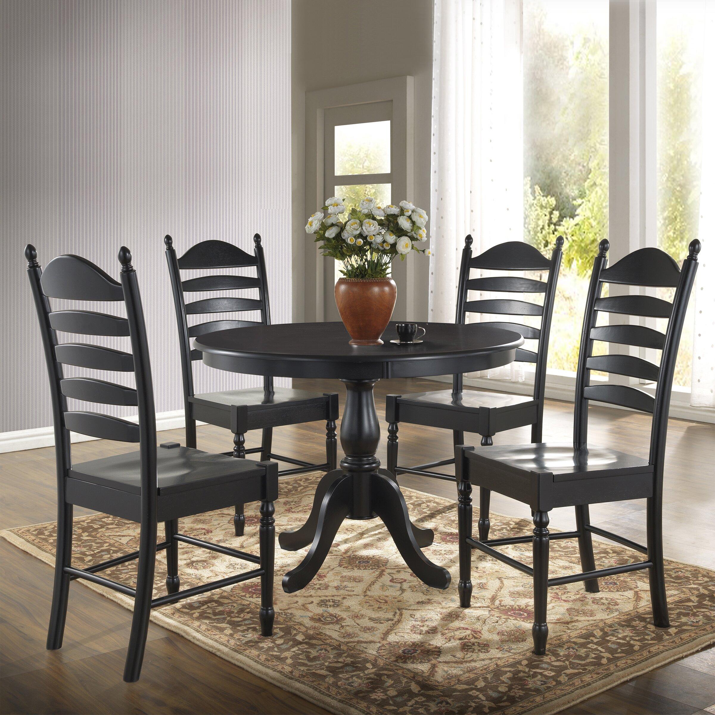 carolina cottage newport dining table reviews wayfair. Black Bedroom Furniture Sets. Home Design Ideas
