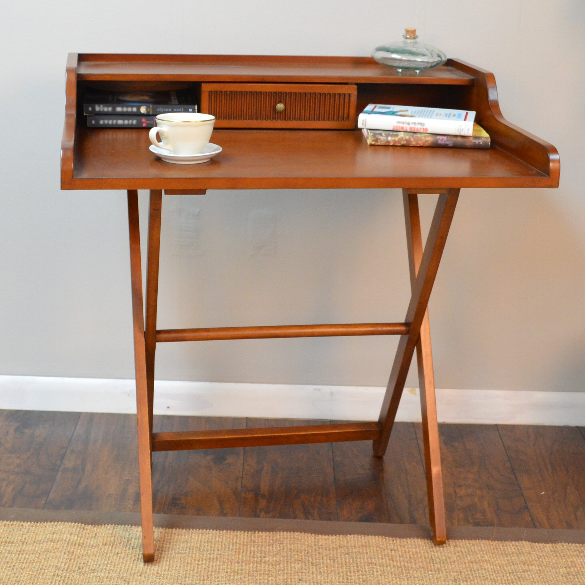 Carolina Cottage Folding Easton Writing Desk & Reviews ...
