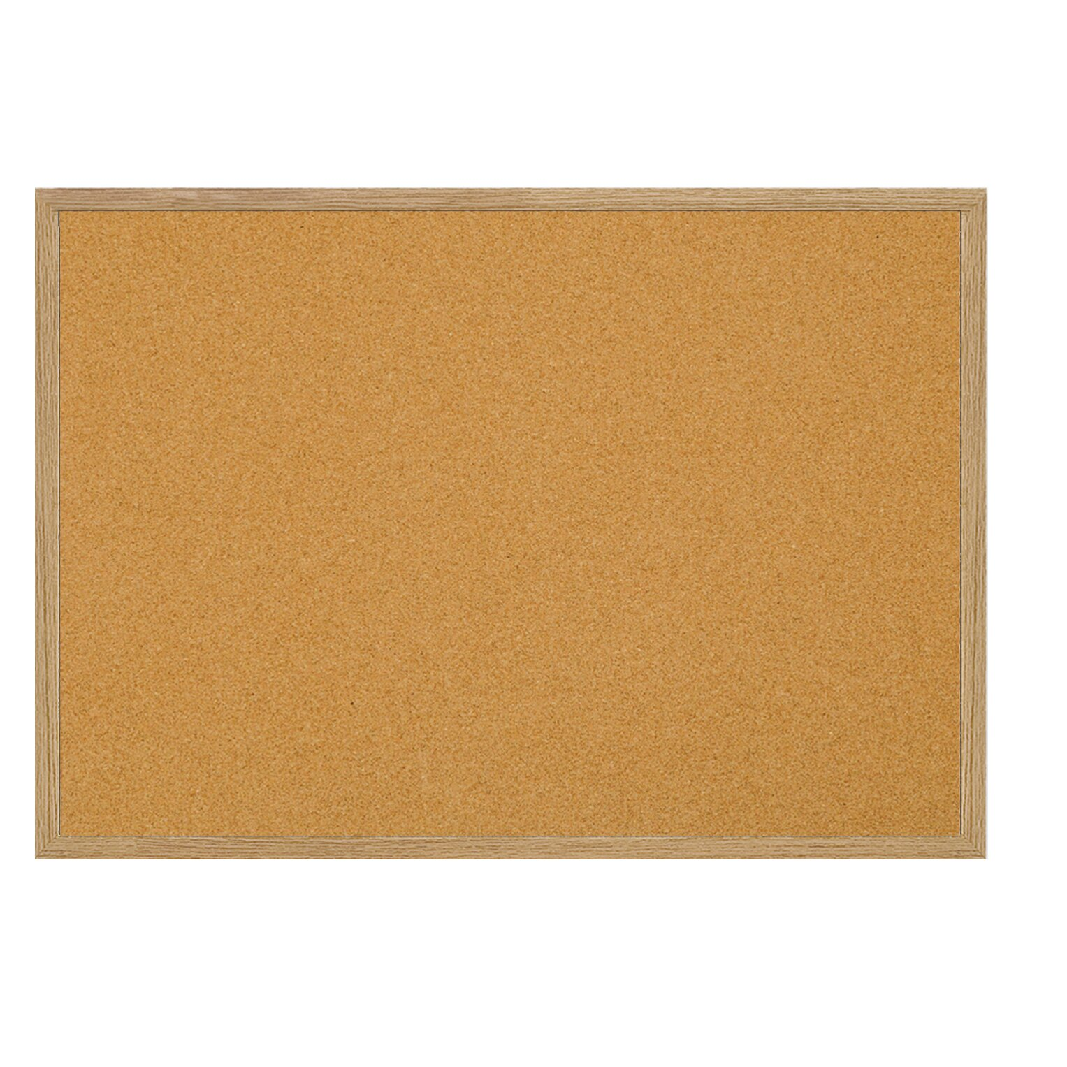 mastervision value cork wall mounted bulletin board