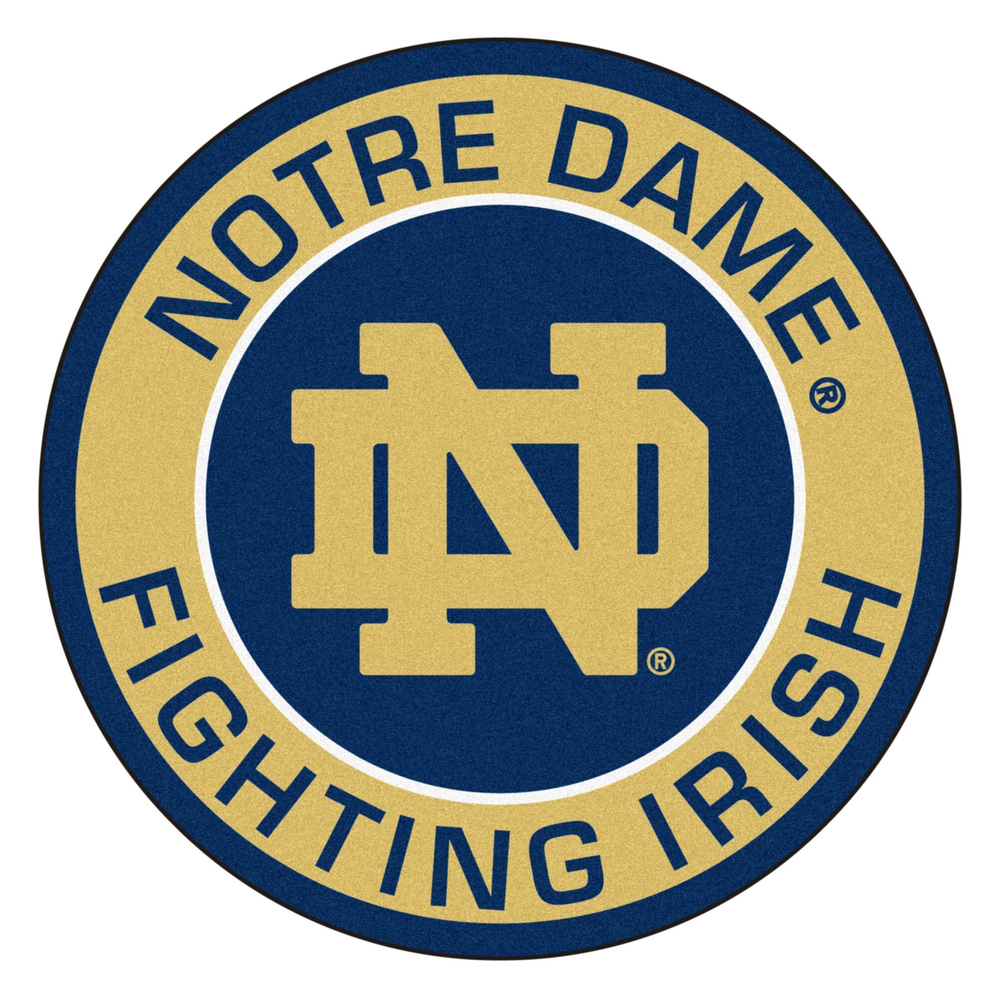 Fanmats Ncaa Notre Dame Roundel Mat Amp Reviews Wayfair
