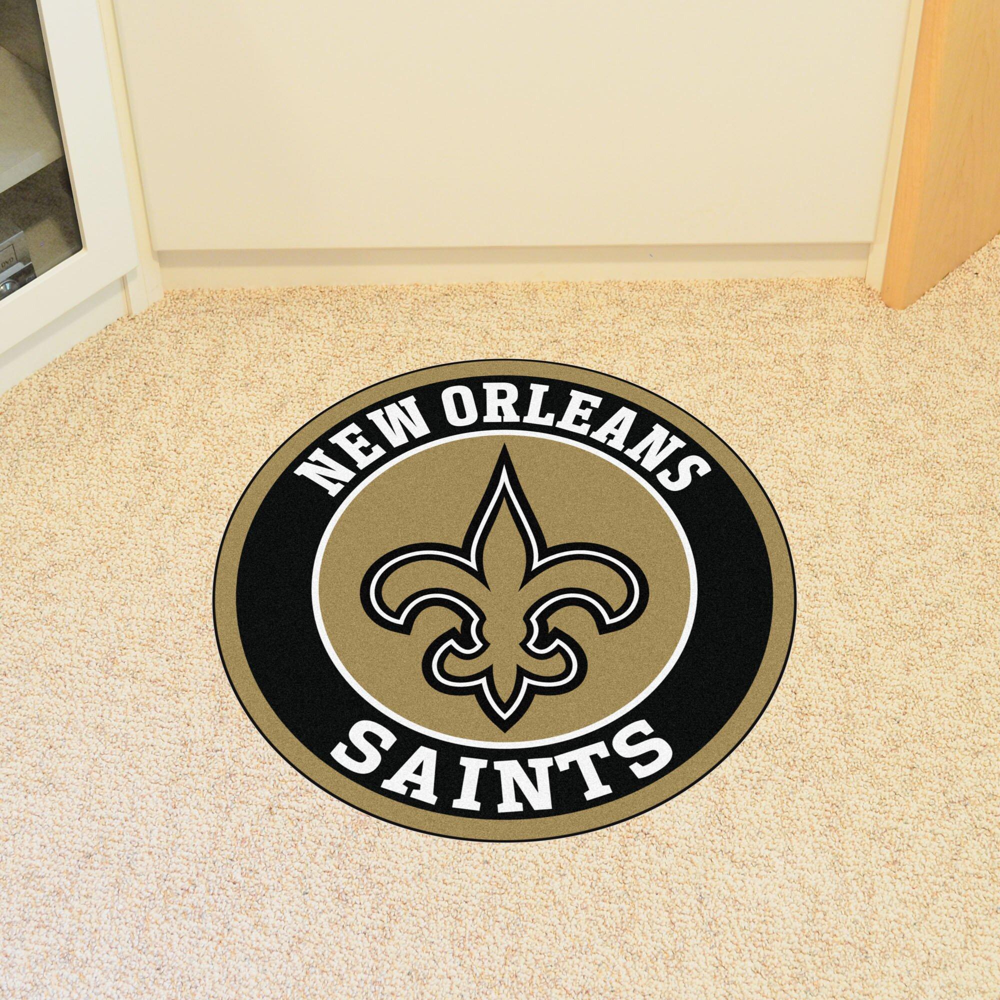 Fanmats Nfl New Orleans Saints Roundel Mat Wayfair