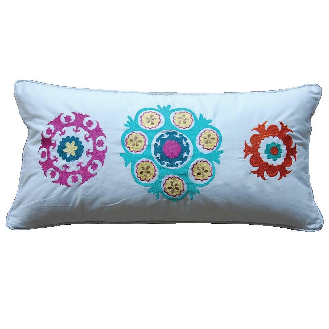 Zanzibar Throw Pillows : Levtex Home Zanzibar Medallion Feather Cotton Throw Pillow & Reviews Wayfair