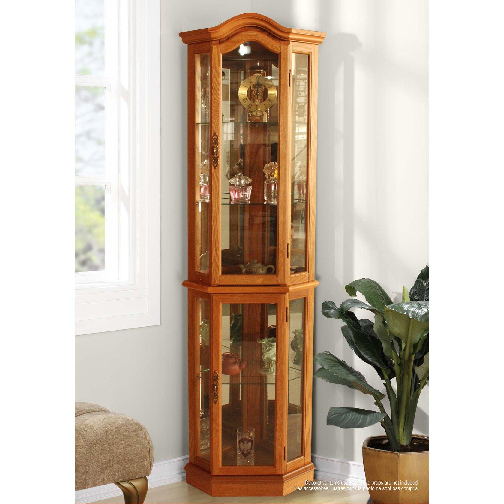 Jenlea curio cabinet reviews wayfair for Wayfair kitchen cabinets