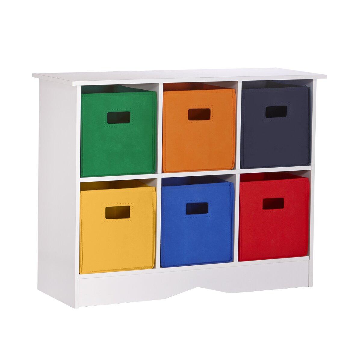 Riverridge Kids Riverridge Kids 6 Compartment Storage