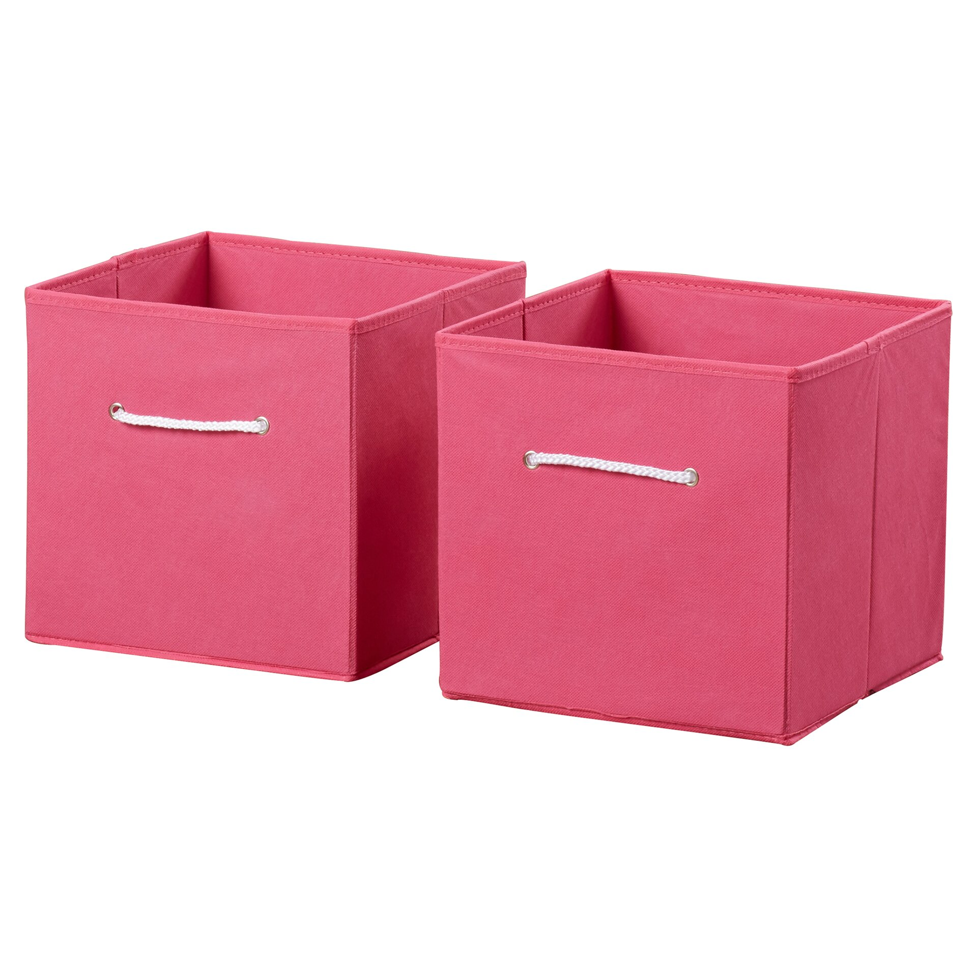 riverridge kids folding toy storage bins reviews wayfair. Black Bedroom Furniture Sets. Home Design Ideas
