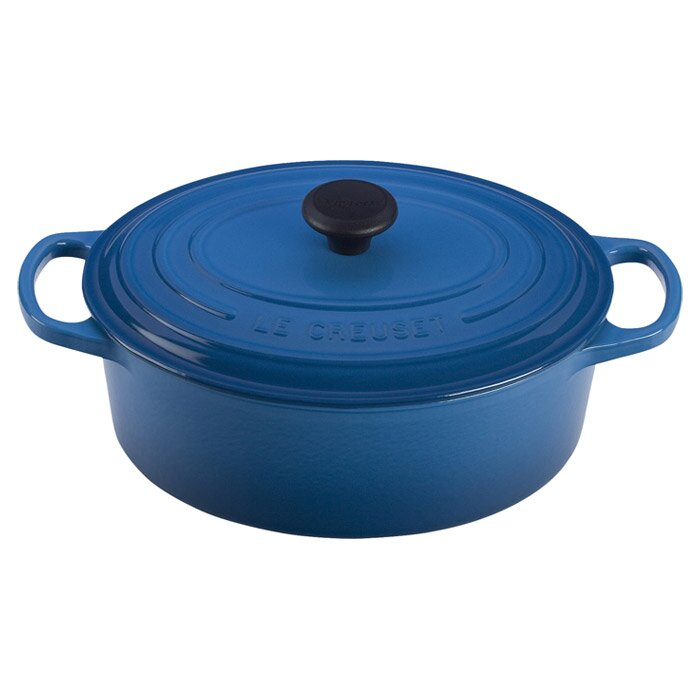 le creuset enameled cast iron round french oven reviews wayfair. Black Bedroom Furniture Sets. Home Design Ideas