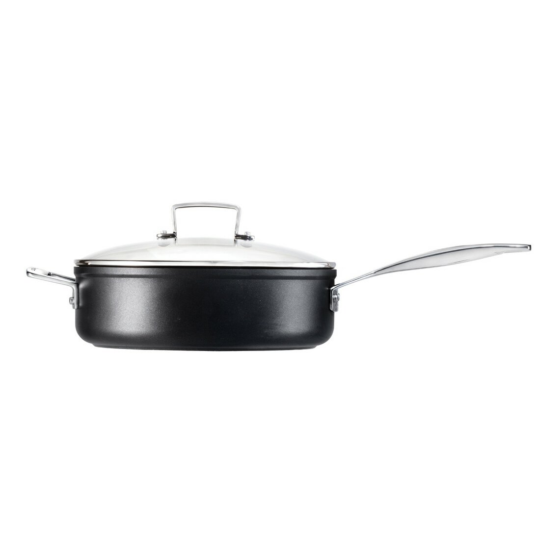 le creuset toughened non stick 4 5 qt saute pan reviews wayfair. Black Bedroom Furniture Sets. Home Design Ideas